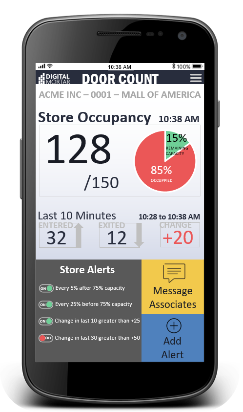 Occupancy-Alert-Store-View-3 (Safely) Reopen Retail! DM Launches Occupancy Alerting App